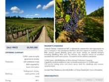 Image of One of the Largest Vineyards in Virginia for Sale